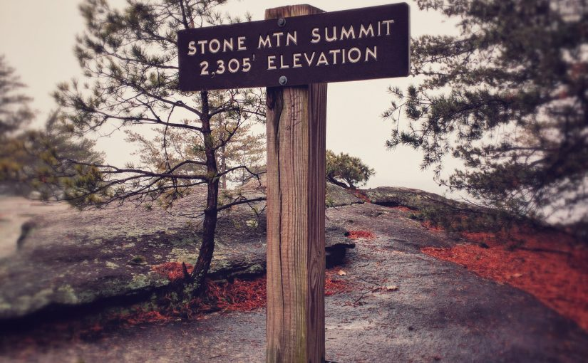 Life Work Balance – Foggy Hike On Stone Mountain