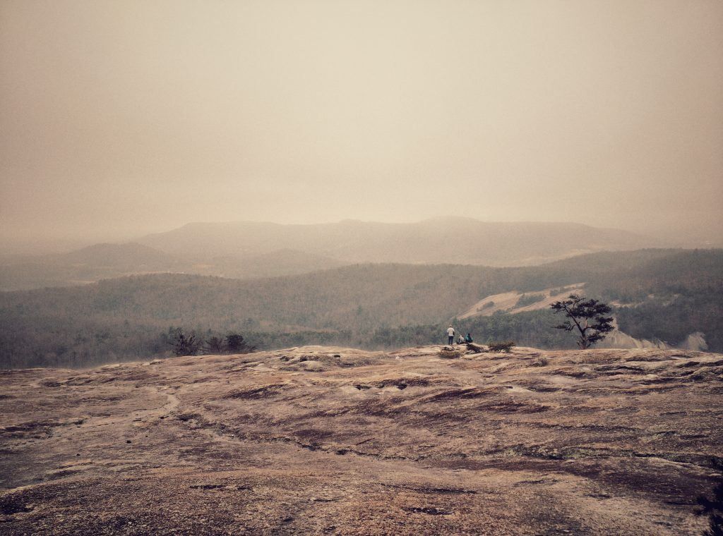Photo of view from Stone Mountain