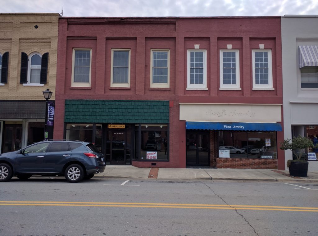 107 and 109 West Main St, Elkin